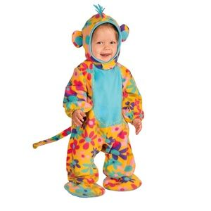 NWT Forum Novelties Animal Kids Monkey Costume